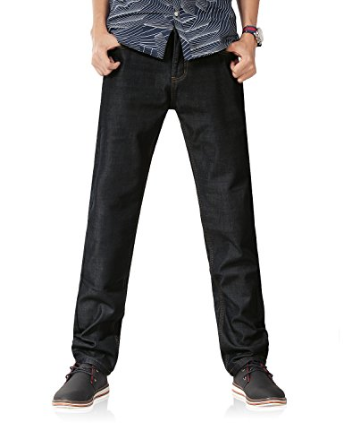 cd65cb88c27 Demon Hunter 801 Series Men s Fleece Lined Straight Leg Jeans DH8001 ...